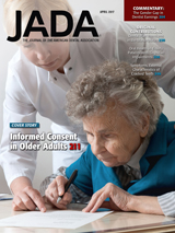 April 2017 JADA elderly woman signing paper